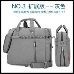 Lj1-214 Shockproof-Gasbag Messenger-Bag Businessman-Bag Bolso Maletín para ordenador portátil de la bolsa de ordenador