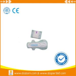 Tampon de coton femelle OEM marques sanitaires