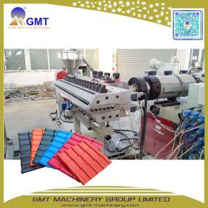La glaçure en plastique PVC ASA Tuile de machines de l'extrudeuse de feuille