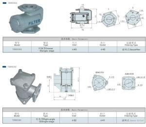 기름 역을%s 알루미늄 물자 동축 Single-Stage 필터