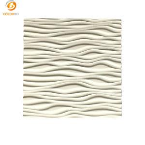 Mdf-materieller Handelsinnenbüro-Dekoration-Grad eine Feuerfestigkeit-umweltfreundlicher Farbanstrich-Oberflächen-fehlerfreie Absorptions-Wandverkleidungs-Vorstand-akustische Wand