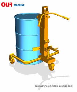 ペダルの350kg Dt350Aのための油圧ドラム・キャリアの手動ドラムバンドパレット