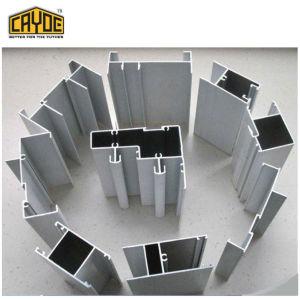 Foshan pistas de aluminio con doble perfil de ventana deslizante