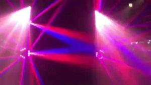 9X12W RGBWのディスコの段階ライトLEDくものビーム移動ヘッド