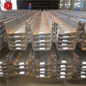 Laminado en Caliente Q235B Q345b Sy295 Material U Tipo/ montón de hojas de acero tipo Z.