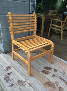 Jantar de bambu Bambu mobiliário de madeira cadeira elástica para Home Hotel Restaurante