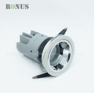 COB Lujo Trimless LED Spotlight CRI 95 Punto de luz de techo Lámpara de luz tenue iluminación de interiores