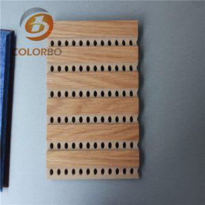Zahlreiche Vielzahl-hölzernes Bauholz-Akustik-Panel