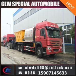 8cbmアスファルト砂利の販売のための同期シーリングトラック、道路管理のためのアスファルトディストリビューターのトラック