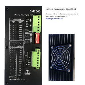 110mm de 13nm 3 Fase Motor paso a paso con alta precisión controladas sinusoidal pura disponible