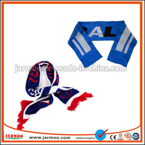 As mulheres de Inverno de alta qualidade lenço de acrílico com o logotipo personalizado
