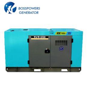 30kw Isuzu silenciosa Denyo Industrial generador de energía diesel