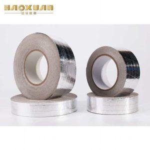 熱い販売の補強されたアルミホイルHVACの製品の粘着テープの穴