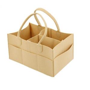 Magasin de stockage de feutre sac/sac de l'Organiseur de couches pour bébés/ Sac de voyage