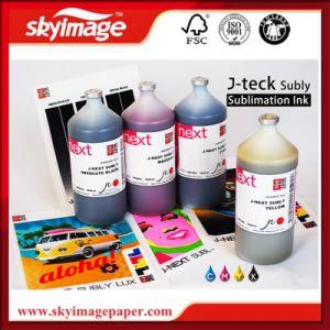 (C M Y BK)イタリアデジタル印刷のための元のJ-TeckのJ次のWater-Based昇華インク