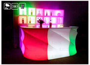 LED-Plastikdiskjockey-Stand-Beleuchtung-Stab-glühender Stab-Kreuzspulmaschine-Kostenzähler