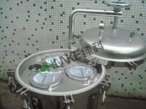 Serbatoio di acqua dell'acciaio inossidabile dell'alloggiamento del filtro a sacco dell'acqua