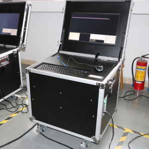 No âmbito do sistema de vigilância do veículo Tipo Móvel Uvss UV de Imagem Dinâmico300-M