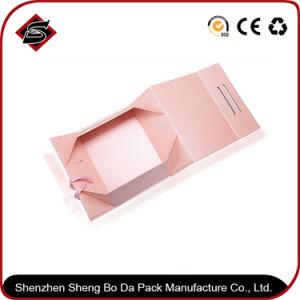 工場によってカスタマイズされる贅沢で熱い押すロゴの包装のギフトの紙箱