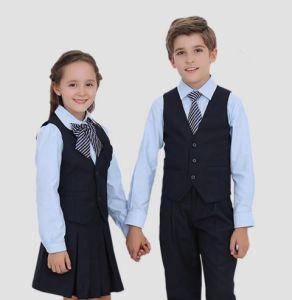 100%년 면 학교 셔츠와 바지 국제적인 교복