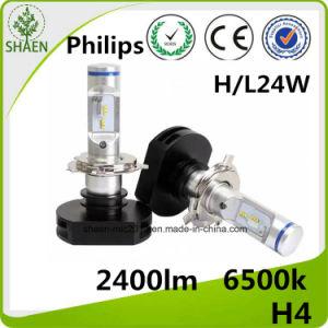 H4 светодиодный индикатор автоматического корректора фар всеобщей 24W 2400 лм
