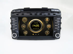 Automobile GPS Navigation System in Dash 2DIN Audio Stereo per KIA Sorento 2015 (AST-8072)