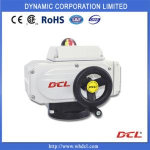Dcl-10 quart de tour la modulation de l'actionneur électrique pour vanne papillon, le métal/Resillient siège, ce/CSA/RoHS, étanche IP68, navire/Offshore/marine/HAVC, contrôleur