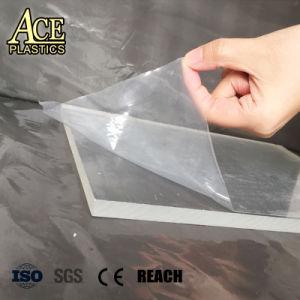 PE de film transparent de protection pour de miroir et de verre