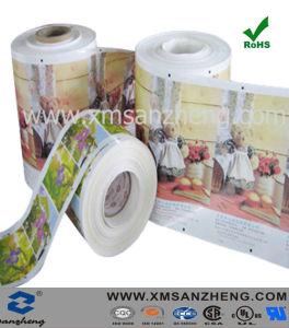 Contrassegni autoadesivi lucidi resistenti resistenti UV di stampa dell'acqua dell'animale domestico del PVC