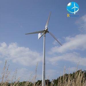 격자에 의하여 묶이는 작은 바람 터빈 발전기