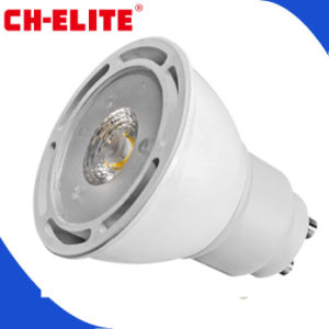 Hohes Kosten-wirkungsvolles Plastic + Aluminum 7W LED COB GU10 Spotlight