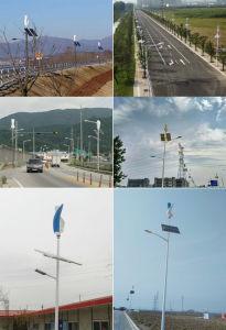 Gerador de vento Vertical Maglev residencial 100W 12V 24V na área de vento forte