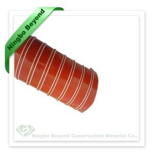 Resistente a altas temperaturas do tubo flexível de silicone vermelho