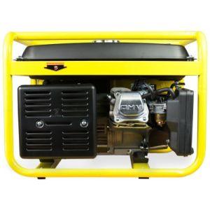 1500W 1.5kVA AC 220V 240V 50Hzガソリンかガソリン電気発電機