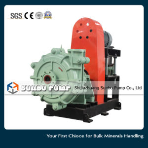 최신 판매 수평한 원심 슬러리 펌프 또는 재 펌프 또는 채광 펌프