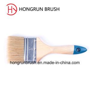 Hölzerne Handgriff-Farben-Bürste (HYW0142)