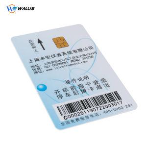 precio de fábrica 13.56MHz 125kHz para Tarjetas PVC contacto y tarjeta RFID de identificación sin contacto
