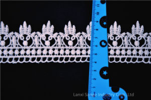 Низкая цена водорастворимые вышивкой хлопок кружевом по пошиву одежды
