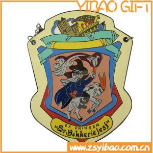 Medalla Insignia de metal esmaltado personalizado para recoger regalos (YB-MD-43)