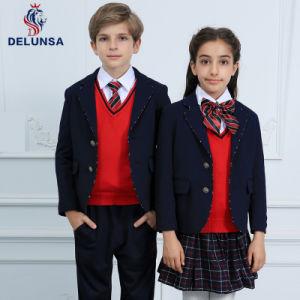 Dernières conceptions de l'hiver noir uniforme scolaire Blazer