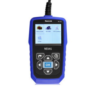 Camión Pesado profesionales diagnóstico automotriz Scanner Nexlink NL102 Herramientas de diagnóstico para coche+Carretilla