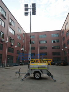480W LEDの産業自動はめ込みディーゼル軽いタワーの発電機