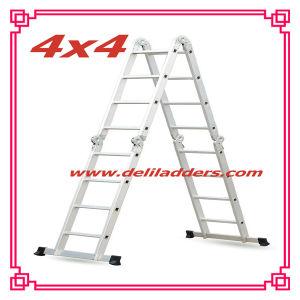 Work Platformの国内AluminumマルチPurpose Extension Ladder