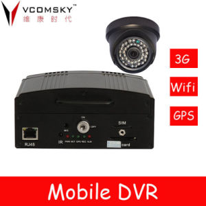 Network DVR with Online GPS Tracking Software