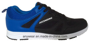 Zapatos que recorren de los deportes ocasionales de la gimnasia del calzado de los hombres de la comodidad (816-6934)