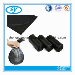 Jetables en plastique noir Sac de déchets solides