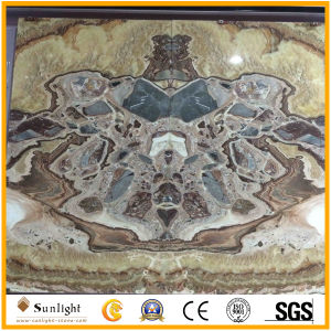 Onyx vermiglio per la parete interna della priorità bassa, mattonelle del Onyx/colori del Onyx