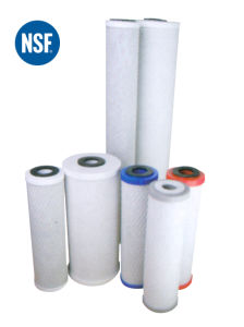 NSF водяной фильтр серии блока углерода