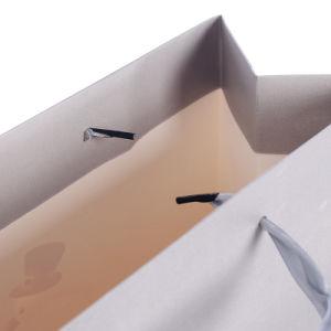 Il piccolo marchio poco costoso di prezzi di MOQ stampato comercia i sacchi di carta all'ingrosso del regalo