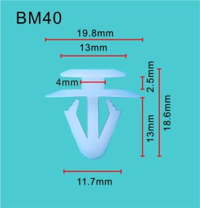 Qualitäts-Selbstplastikclip/Schutzvorrichtung-und Anschlagpuffer-Haltering (AUV#11146)